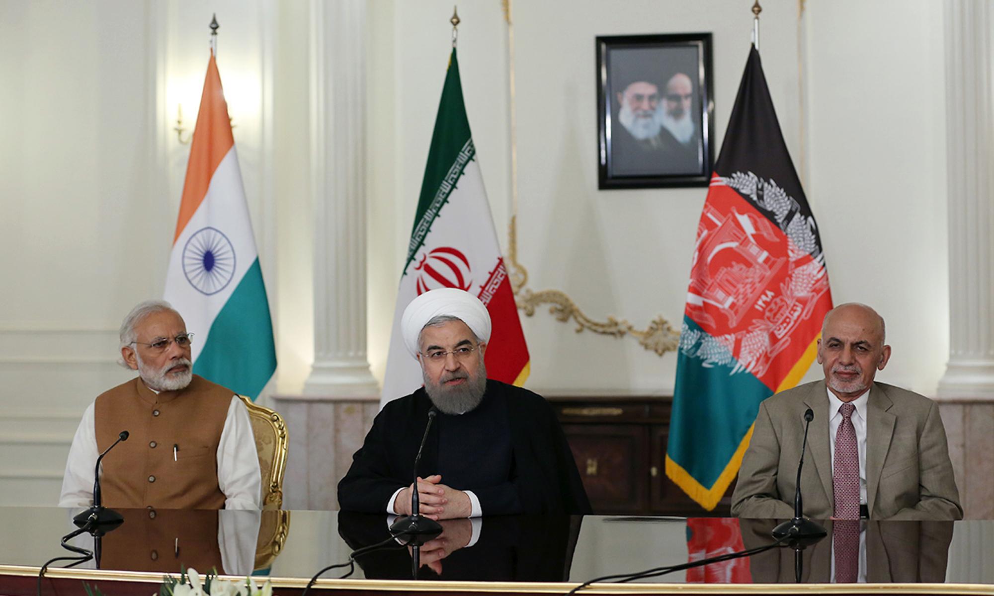 Iran India Cha Bahar
