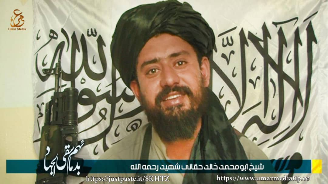 TTP has released a picture of Khalid Haqqani