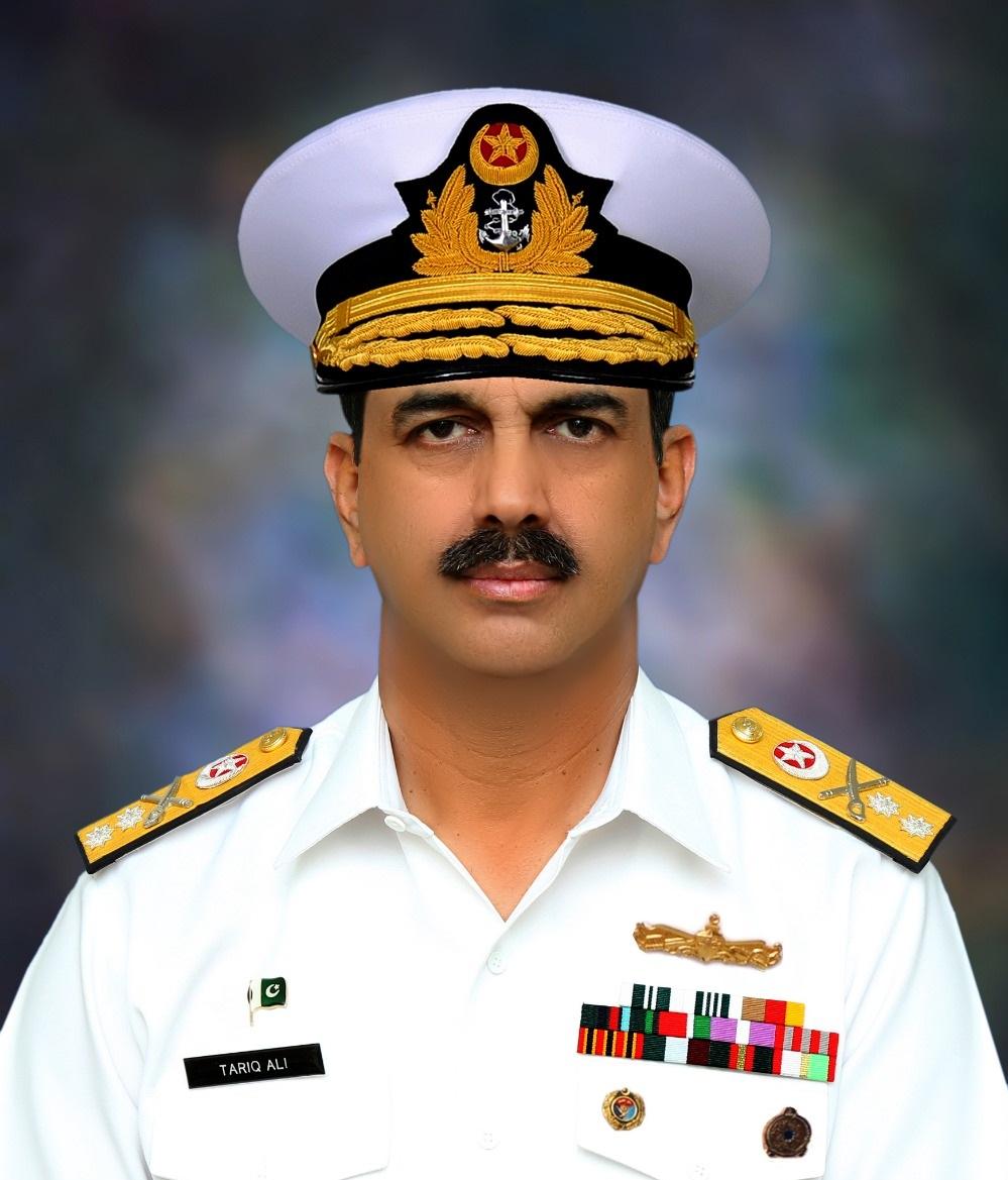 Rear Admiral Tariq Ali-Pakistan Navy
