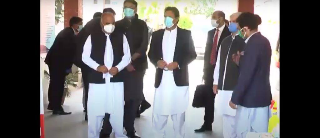 PM Imran Khan-HayatAbad-Peshawar-10-04-2020