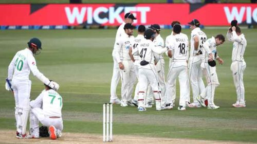 پاکستان کو پہلے ٹیسٹ میچ میں شکست